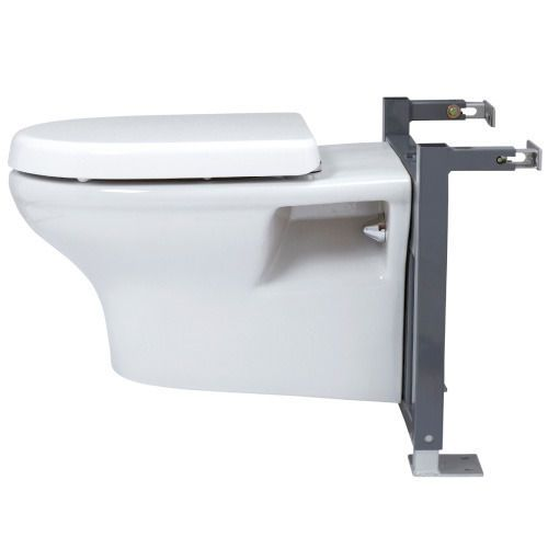 Professional Concealed Universal Wc Toilet Frame Surround With Dual Flush Insulated Cistern And Designer Flush Plate 1 055 Wall Hung Toilet Cistern Insulated