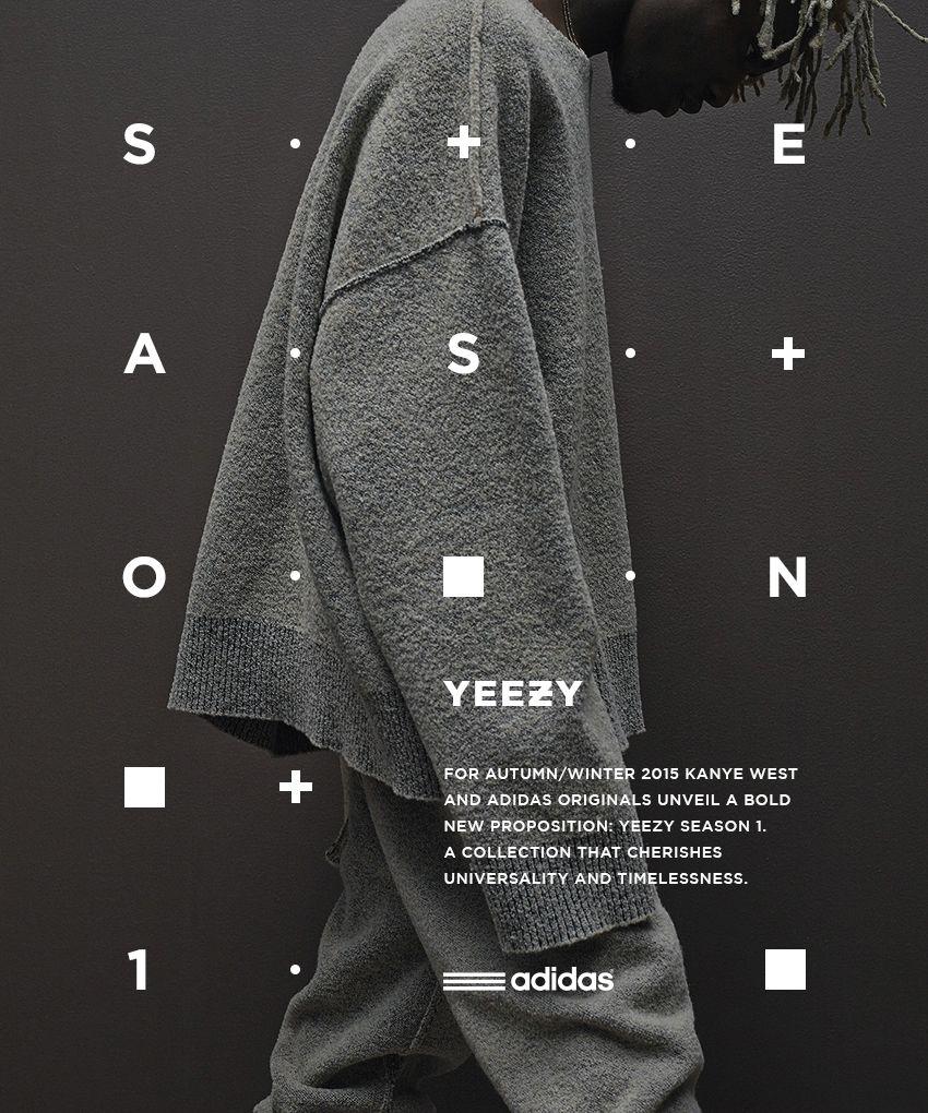 Adidas Originals x Kanye West YEEZY SEASON 1 on