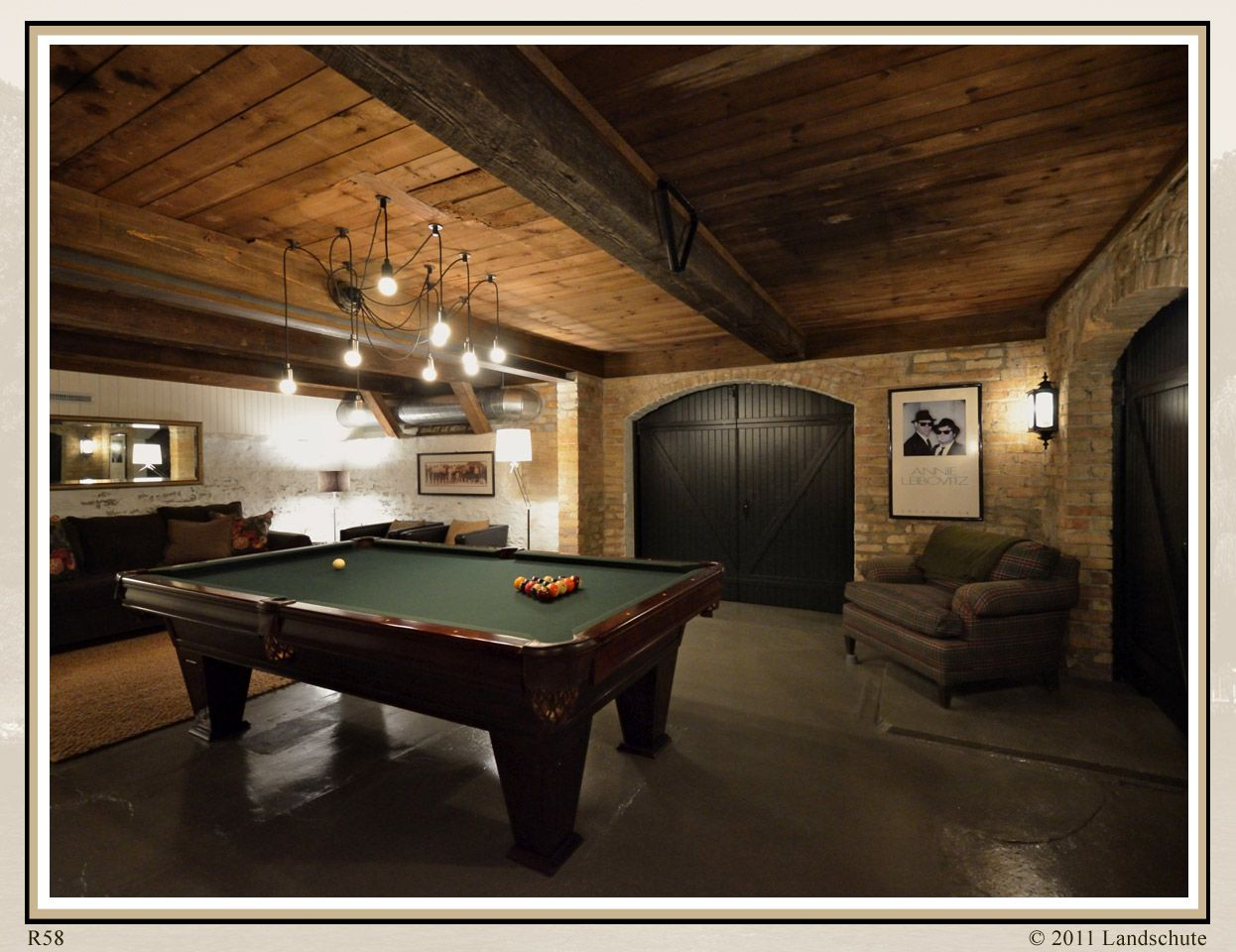 dark basement but it s okay with this decor no link on incredible man cave basement decorating ideas id=93440