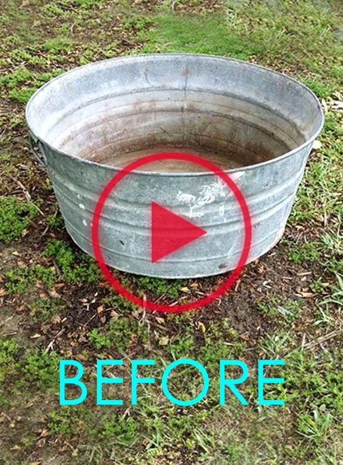 An old galvanized tub transformed into a beautiful outdoor solar fountain with pond and water plants in 1 hour using a solar pump! Detailed tutorial and lots of helpful tips! - A Piece of Rainbow  #upcycle #upcycling #backyard #gardens #gardening #gardeningtips #urbangardening #gardendesign #gardenideas #containergardening #diy #summer #patiodesigns #patio #bohemian #bohemiandecor #bohochic #boho #curbappeal #pond #fountain