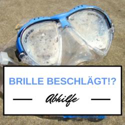 Taucherbrille Beschlagt Beim Schnorcheln Abhilfe Taucherbrille Brille Tauchen