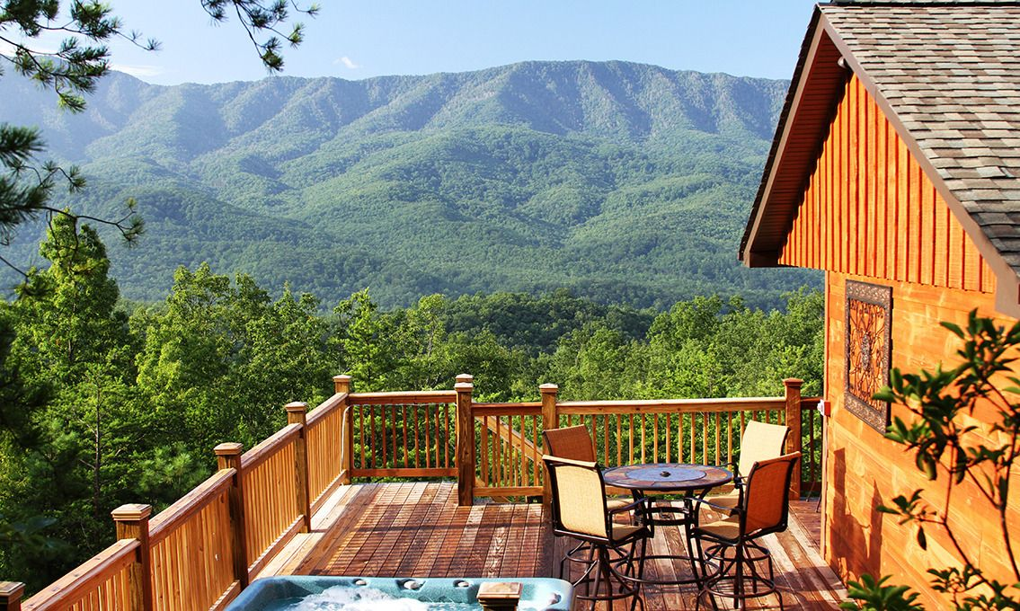 Gatlinburg Cabin Rentals A Luxury View 1 Bedroom 250