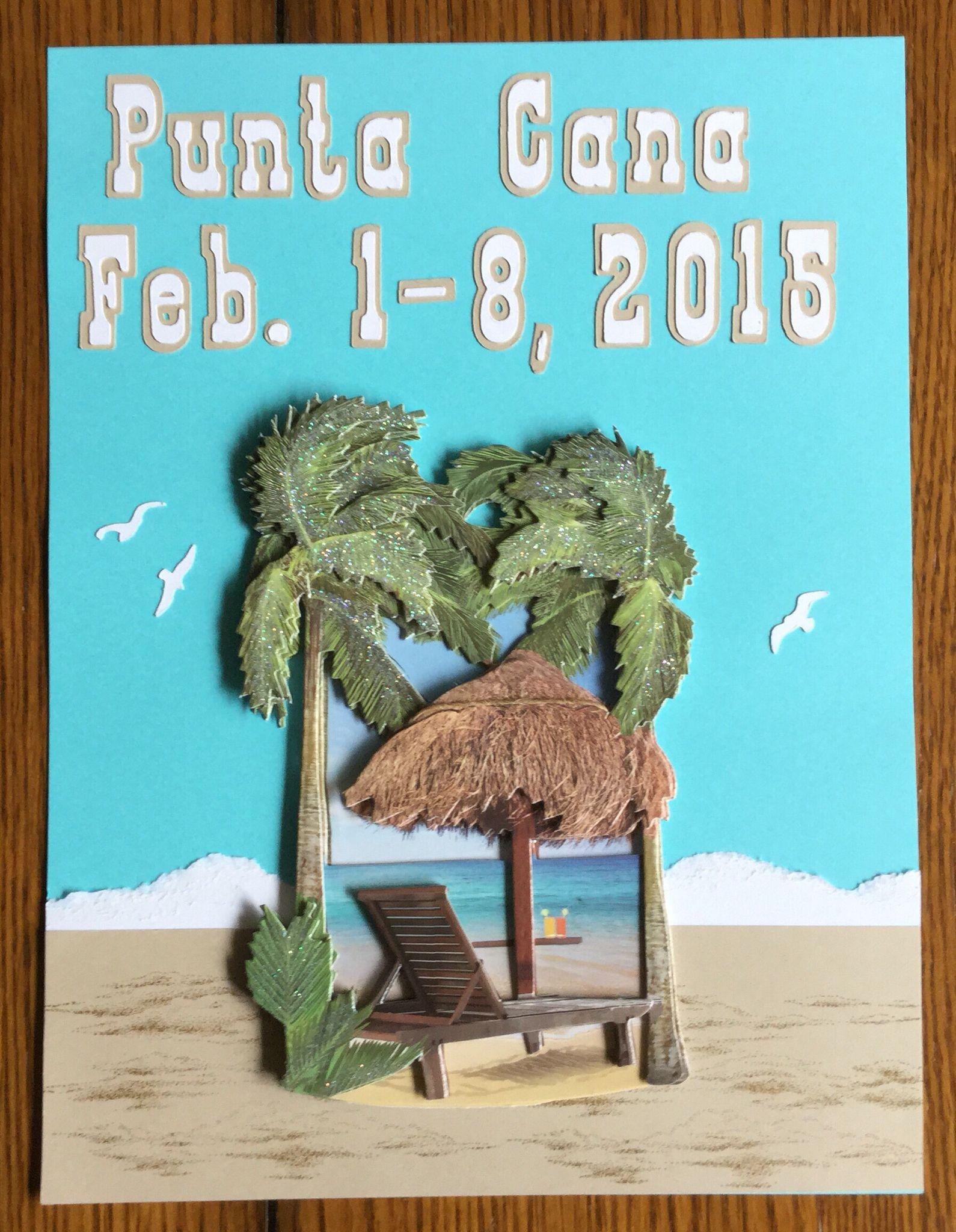 Ziplining scrapbook ideas - Travel Punta Cana Dates Punta Canascrapbook Layoutsdates