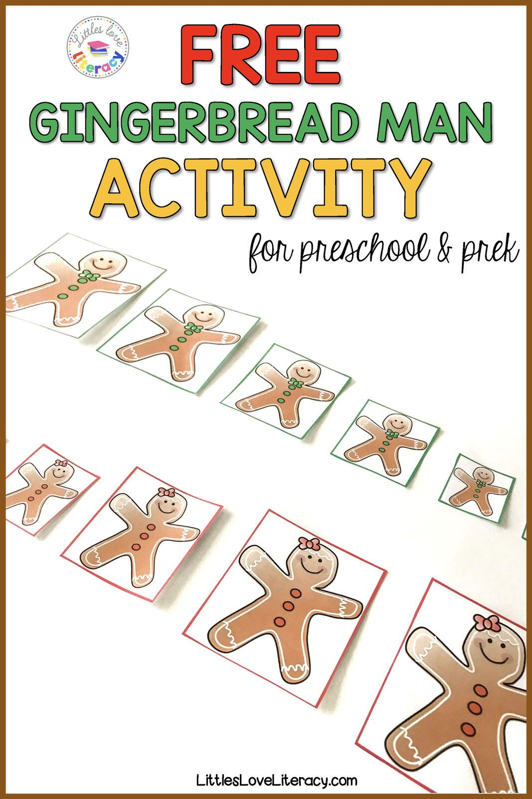 The Ninjabread Man Activities Freebie With Images
