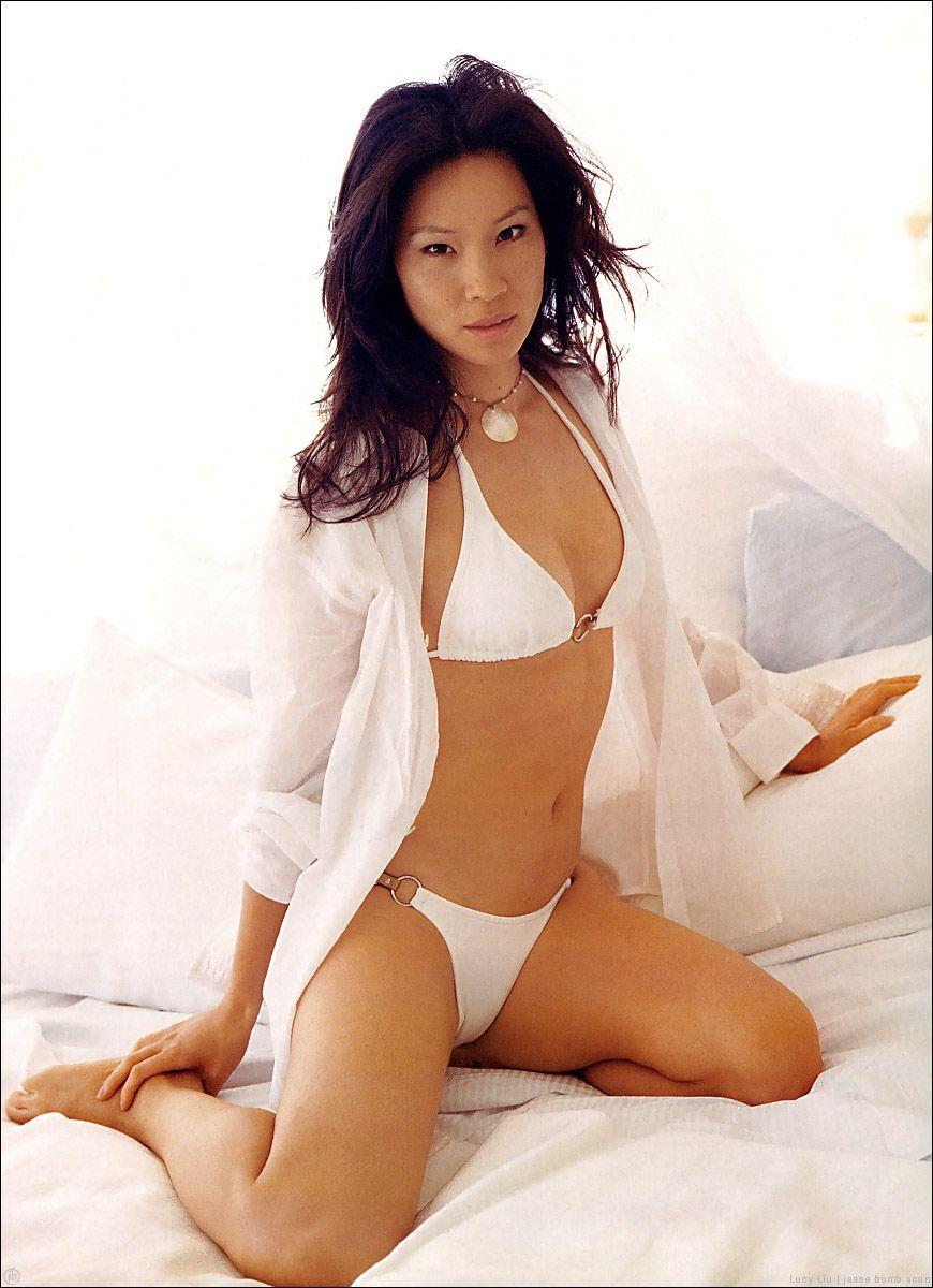 Liu bikini lucy Nude celebrity