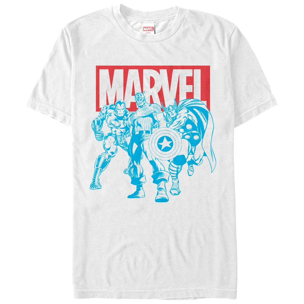 f4d8d9cade62 Free Shipping. Buy Marvel Avengers Stance Mens Graphic T Shirt at  Walmart.com