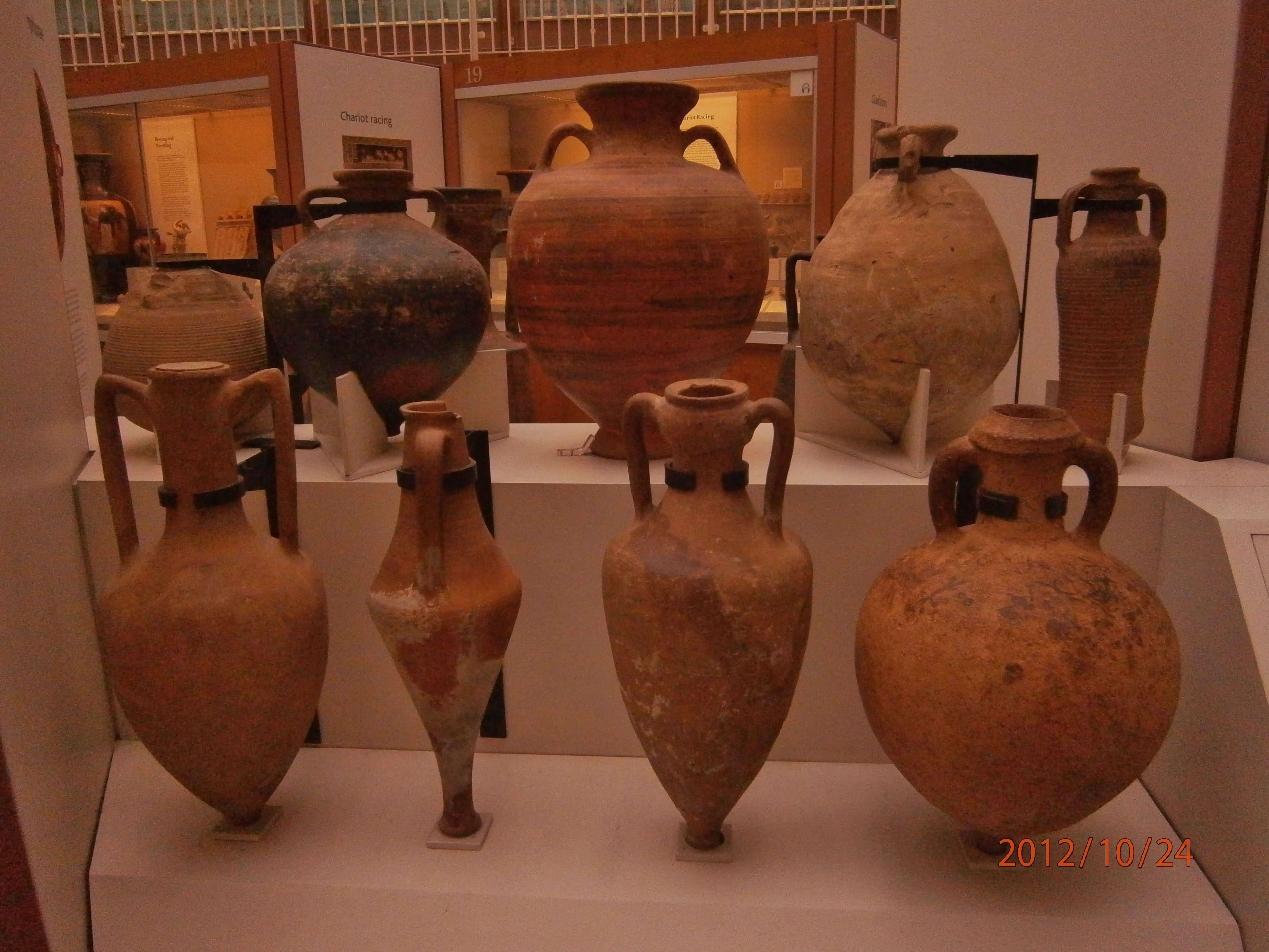 Ancient Clay Pots British Museum