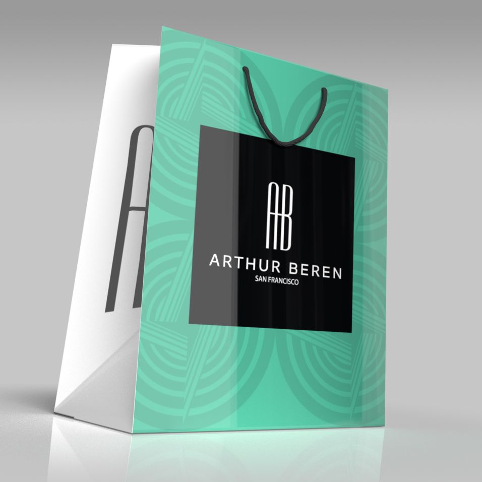 Arthur Beren Shopping Bag | Packaging Shopping Bags | Pinterest ...