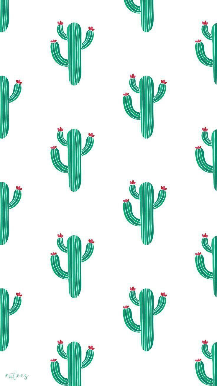 Cacti Cute Wallpaper For Phone Wallpaper Iphone Cute Cute Patterns Wallpaper
