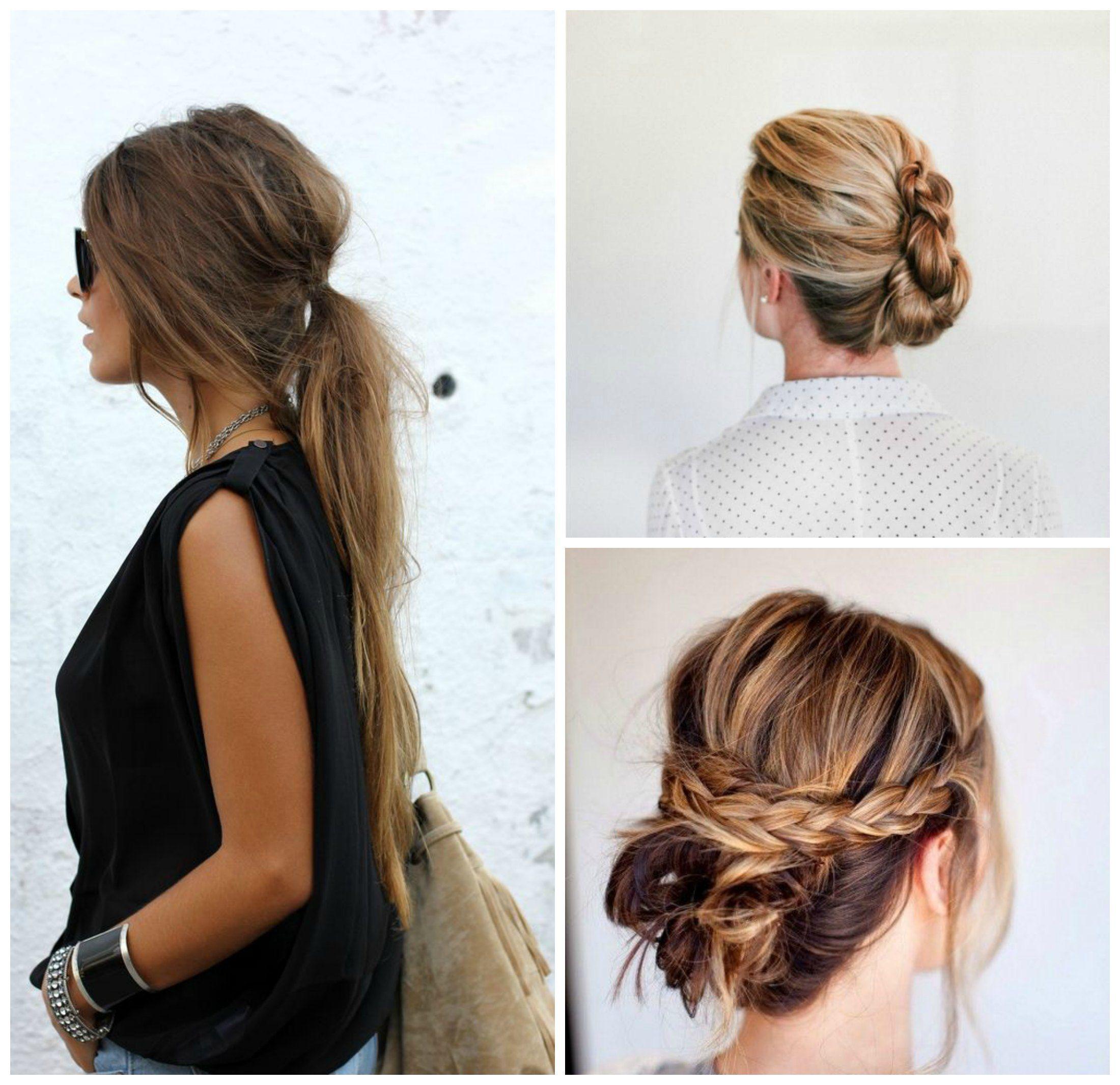 Las mejores fotos de peinados que son rapidos y faciles - Ideas para peinados faciles ...
