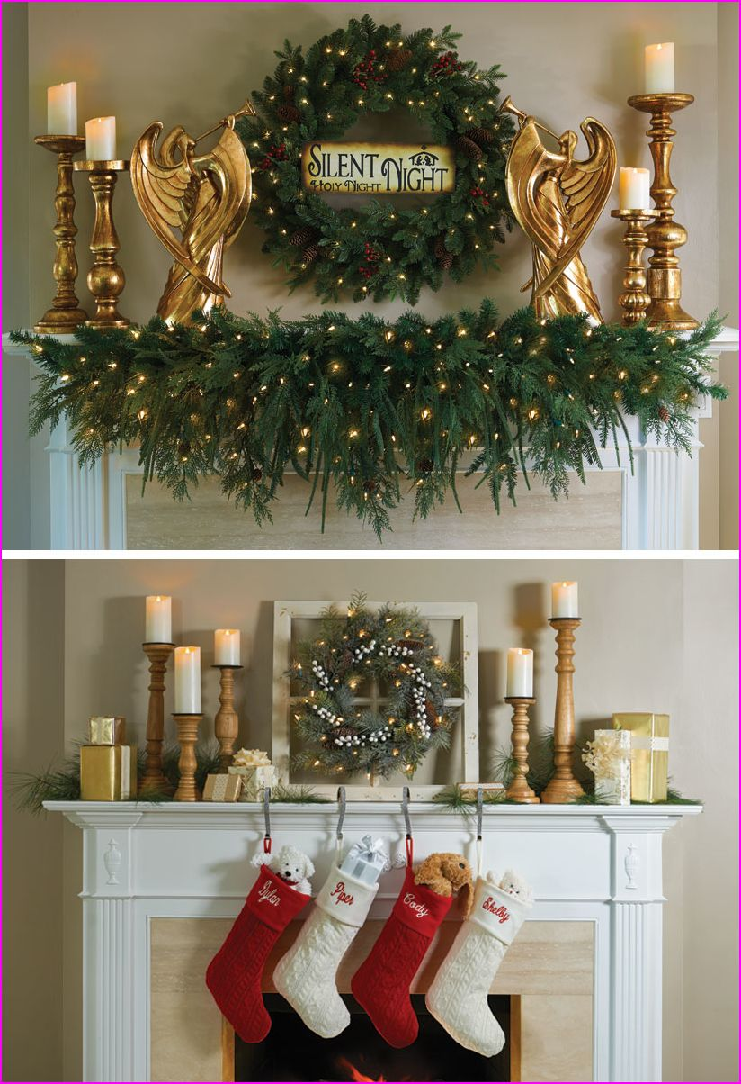 Fresh christmas diy decoration ideas at home the easiest way to test out dramatic holiday decor is on your table dress up  dinner party with lush garland also rh pinterest