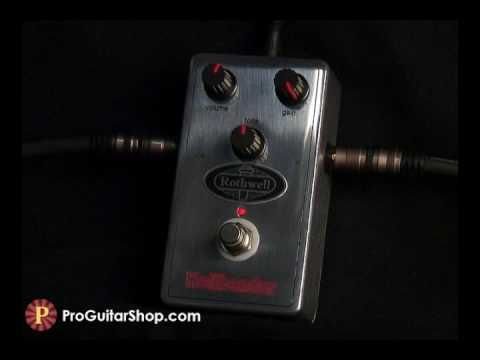 Rothwell Hellbender Overdrive Pedal