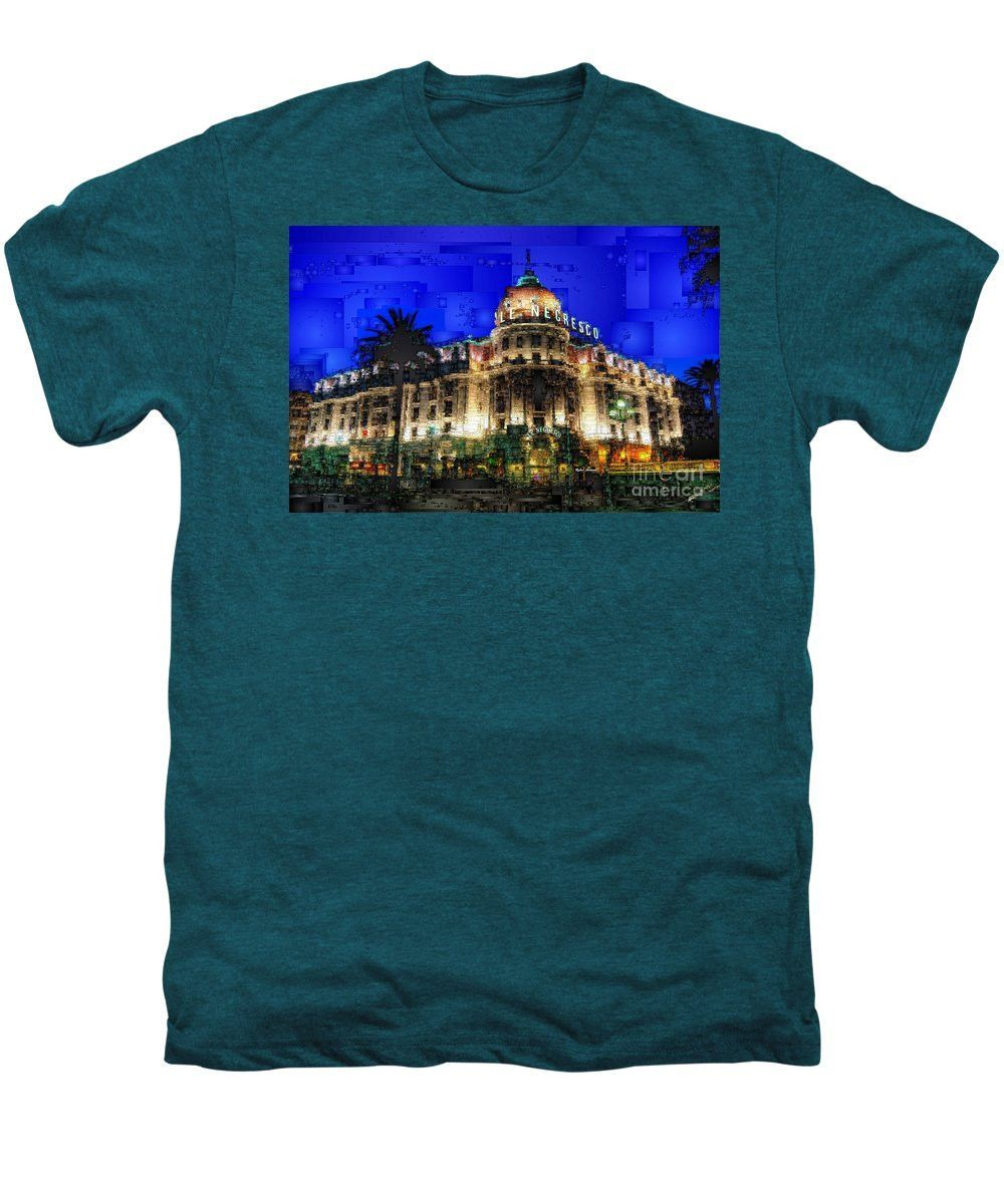 Men's Premium T-Shirt - Le Negresco Hotel In Nice France
