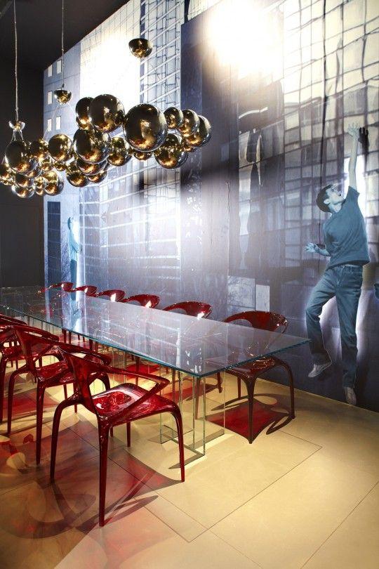 Astrolab Table Ava Bridge Chairs Collection Roche Bobois 2017 Very Rich Design
