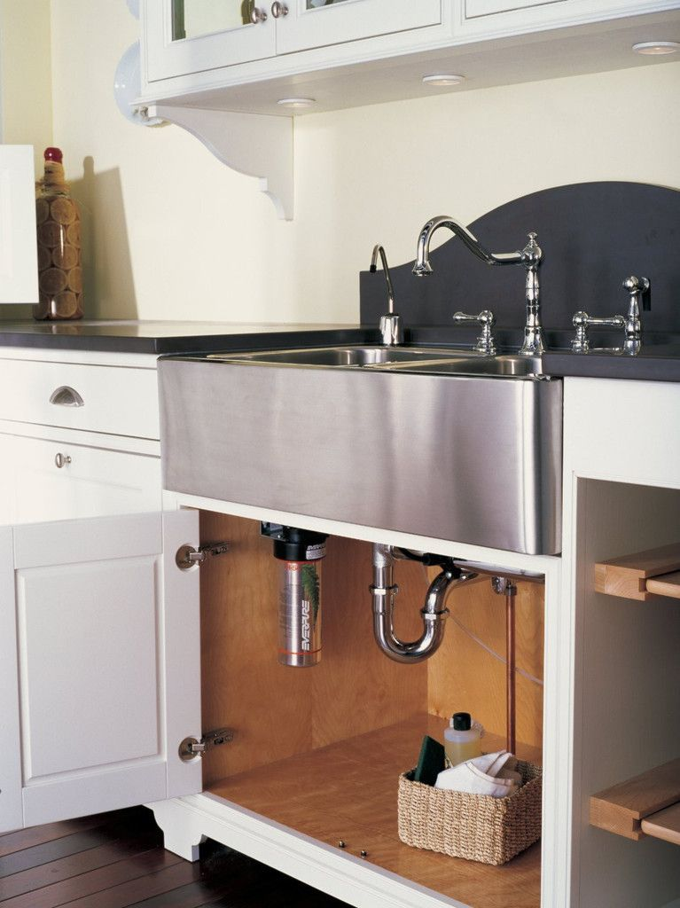Everpure H 54 Water Filtration System Installed Under Sink