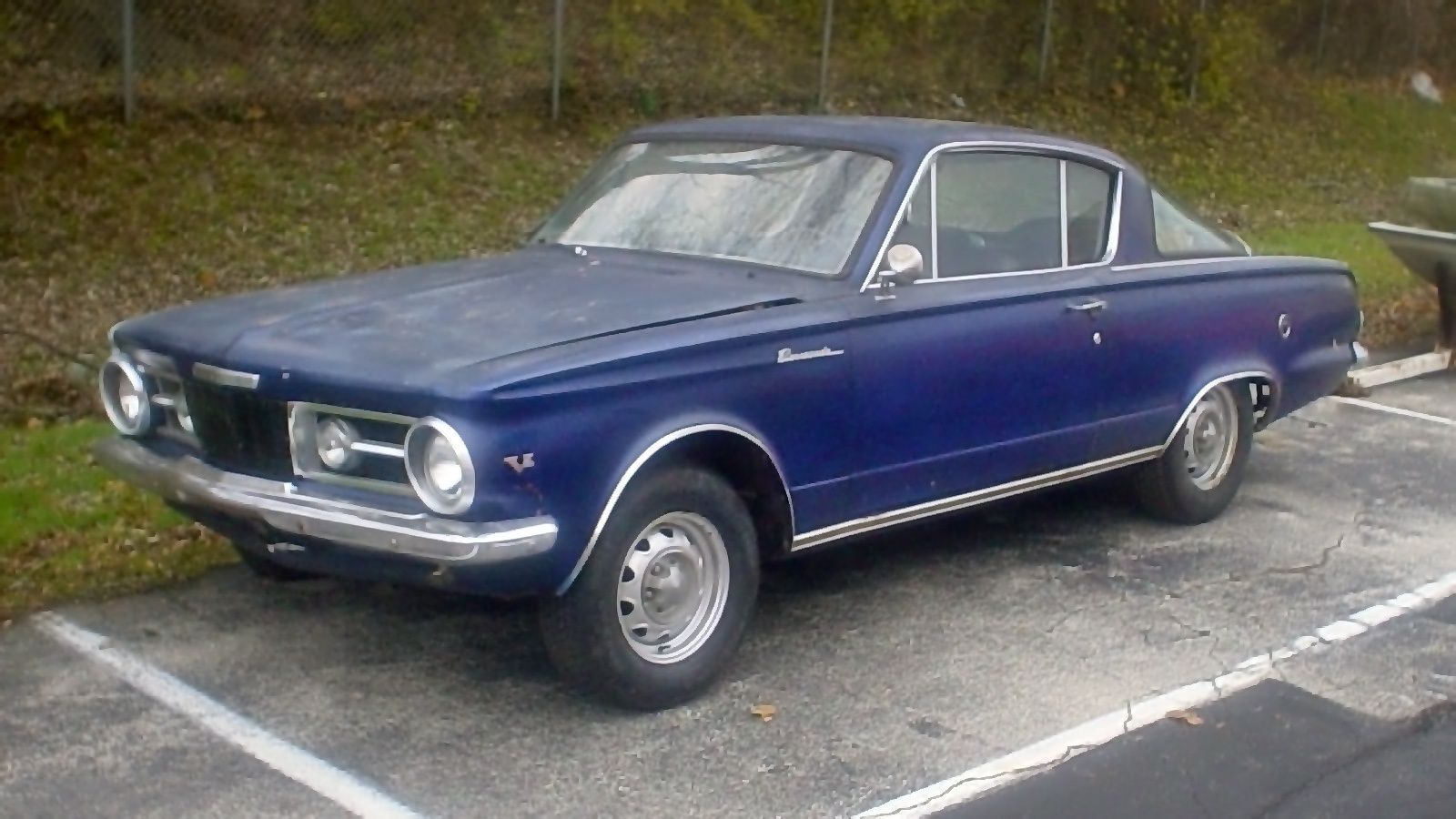 4-Speed 273 V8: 1964 Plymouth Barracuda | Barn Finds | Plymouth