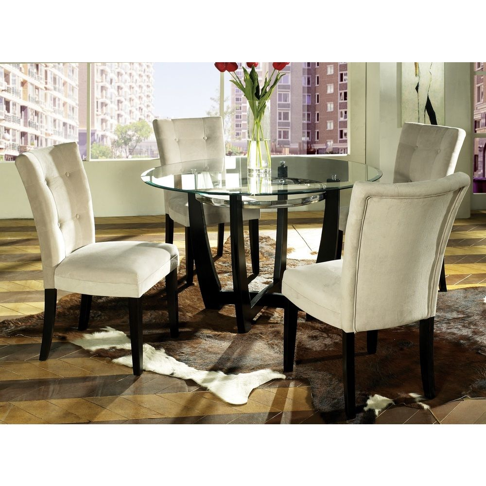 Love these chairs. Monoco 5-piece Dining Set | Overstock™ Shopping ...