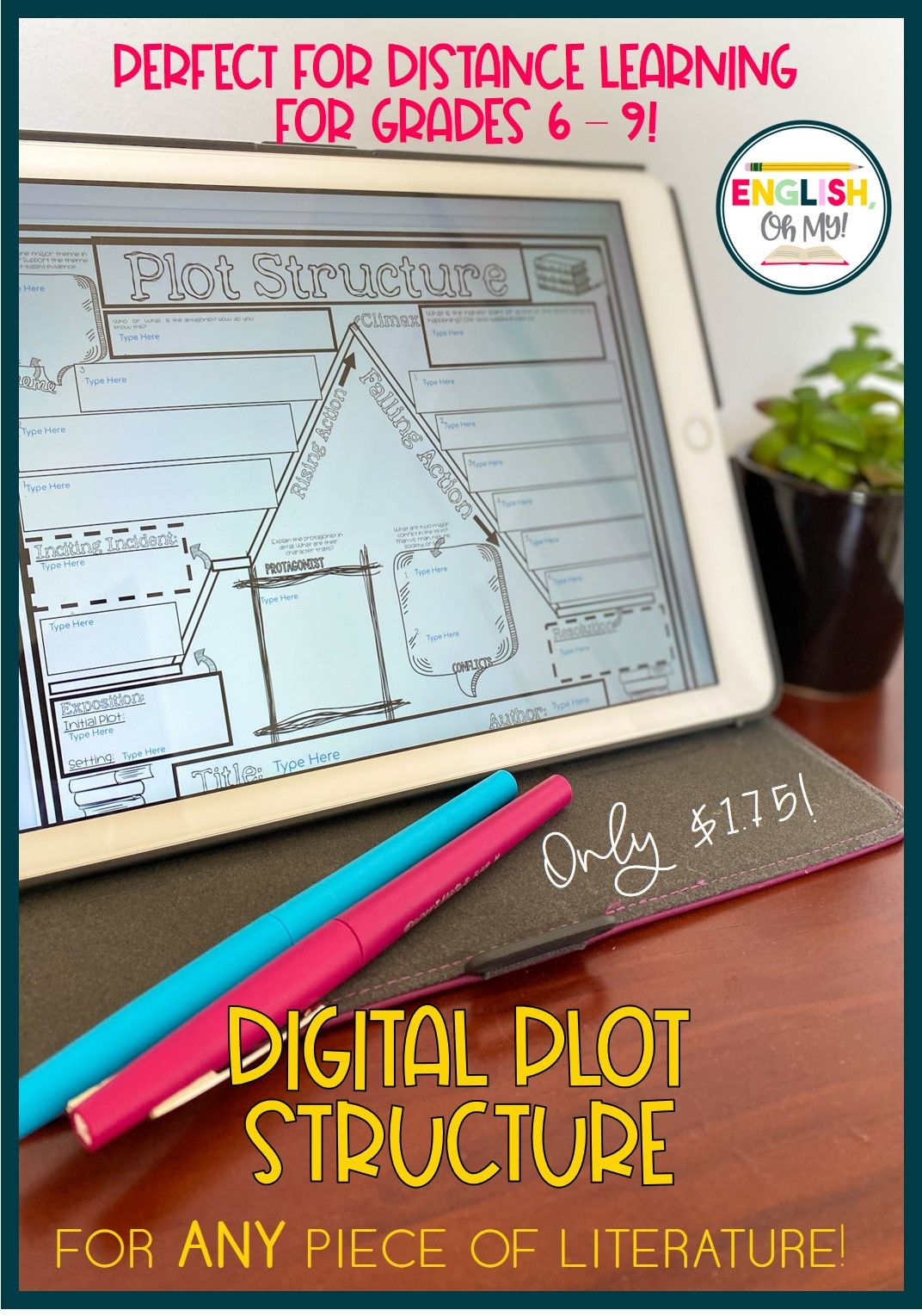 Digital Plot Structure