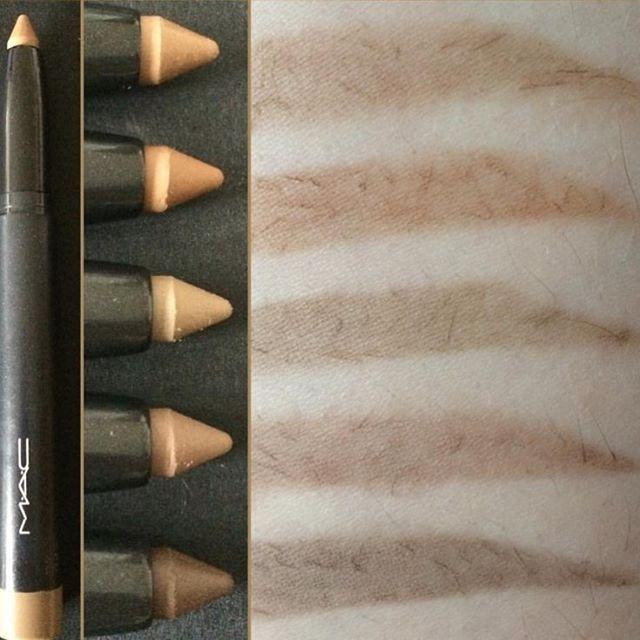 Mac Big Brow Pencil Top Bottom Fling Cork Coquette Lingering