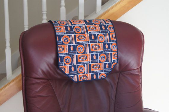 Recliner Chair Headrest Cover Auburn University By