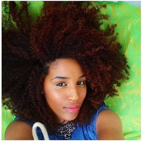 african american natural hair burgundy - Google Search | Kinky ...
