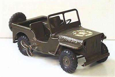 Ww11 us military willys jeep no 2 triang minic clockwork ...