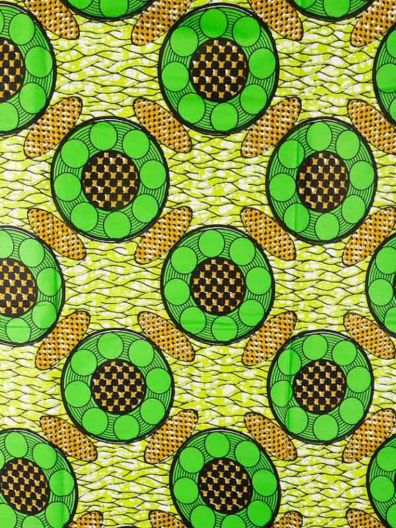 African Fabric Super Wax Print 6 Yards 100 by Africanpremier, $29.99 ...