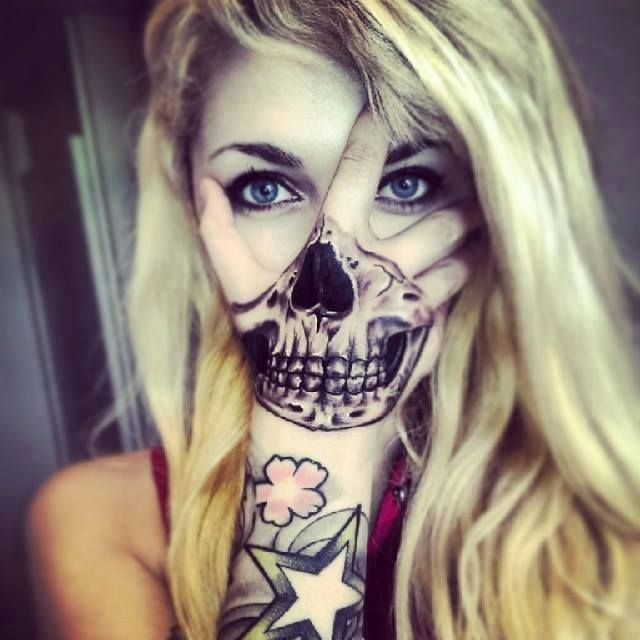 Pin By Seneaux De Rose On Halloween Skull Hand Tattoo Hand Tattoos Hand Tattoos For Women