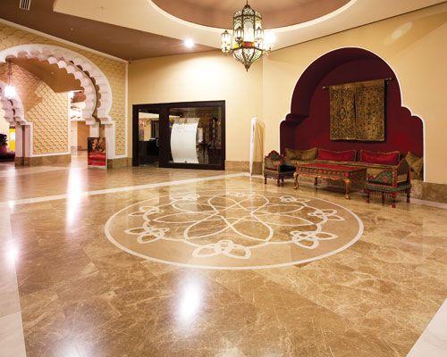 Gorgeous Emperador Light Marble Flooring A Common
