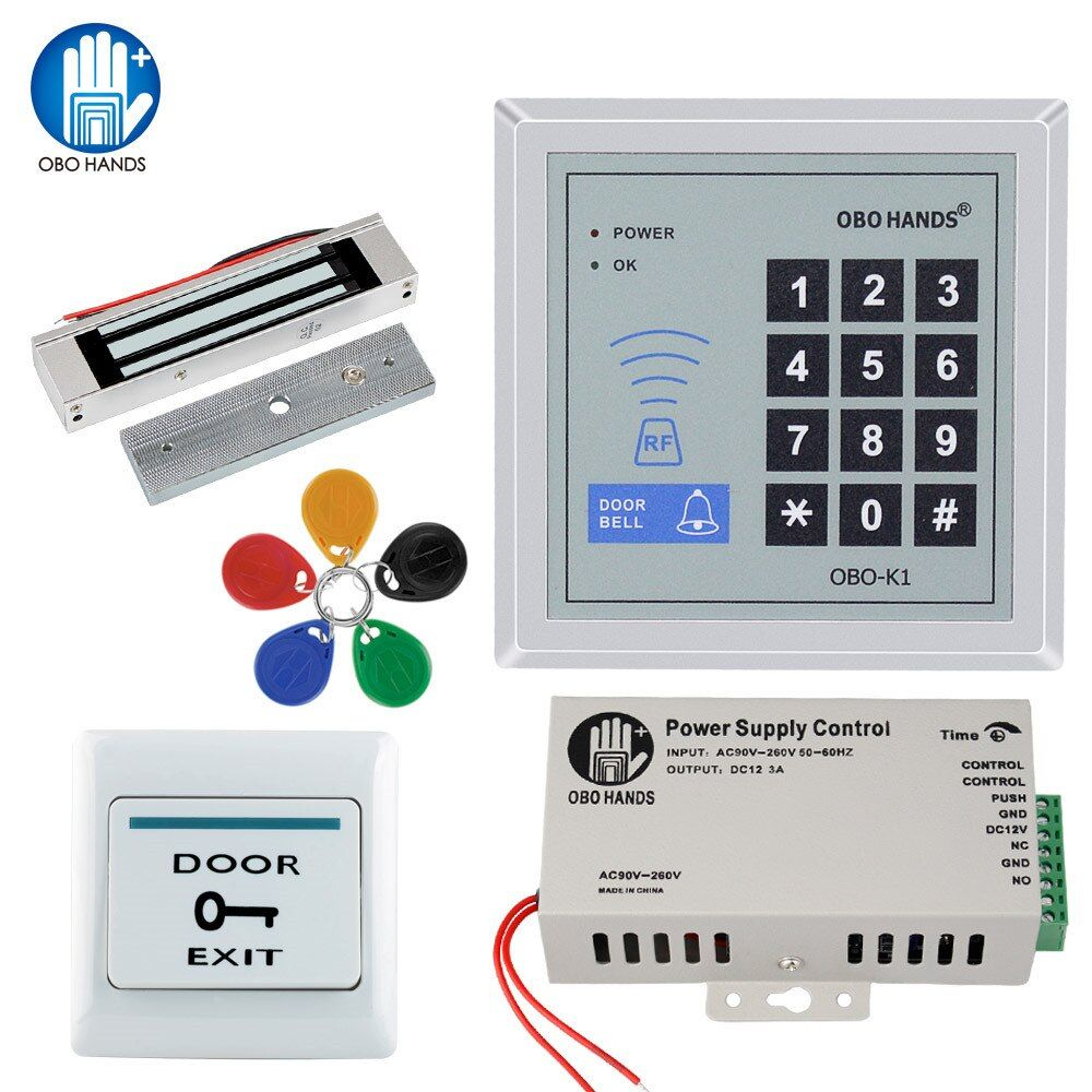 Limited Price Of Rfid Door Access Control System Kit Set Frequency 125khz Wiegand 26 Keypadelectric Access Control System Access Control Electronic Door Locks