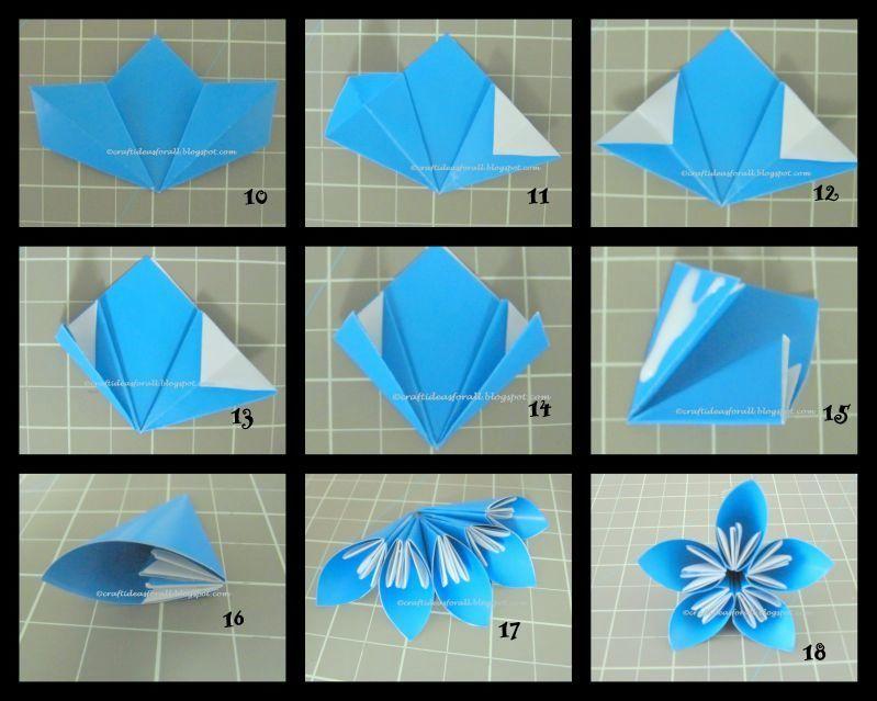 23++ Origami flower vase step by step ideas