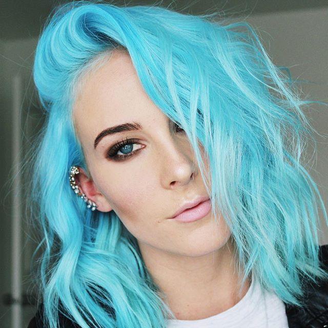 Herman S Amazing Semi Permanent Hair Colour 115ml Tammy Turquoise