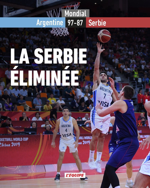 mondial china 2019 Serbie et Argentine