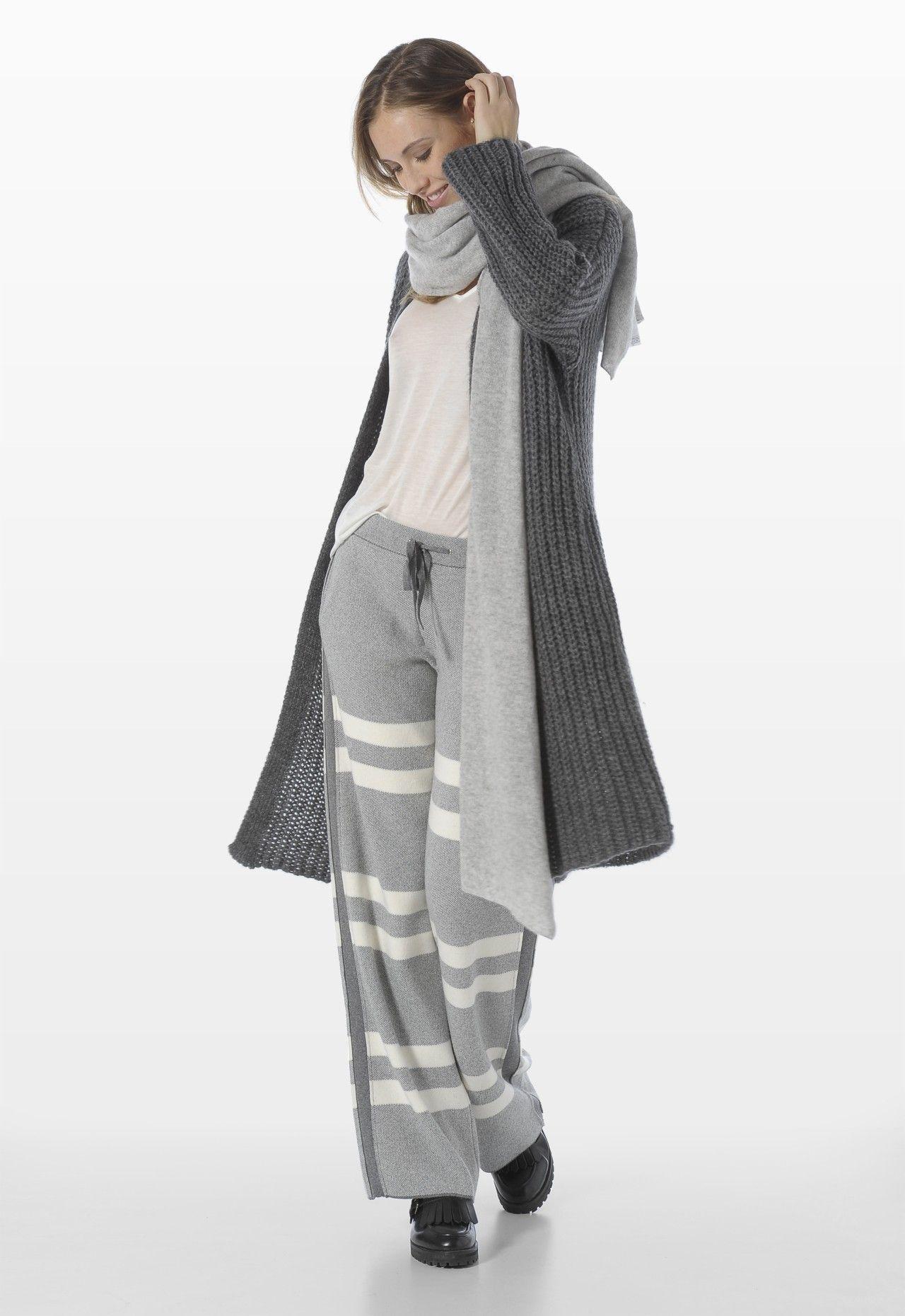 MOHAIR WOOL MAXI CARDIGAN - Knitwear - Woman | Stefanel | STEFANEL ...
