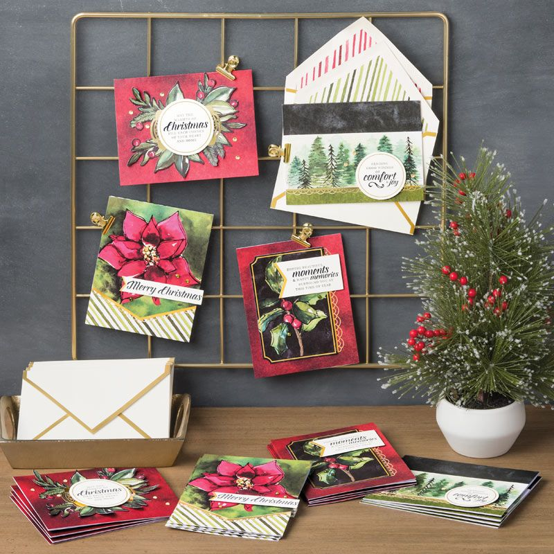 Timeless Tidings Project Kit by Stampin' Up! Video