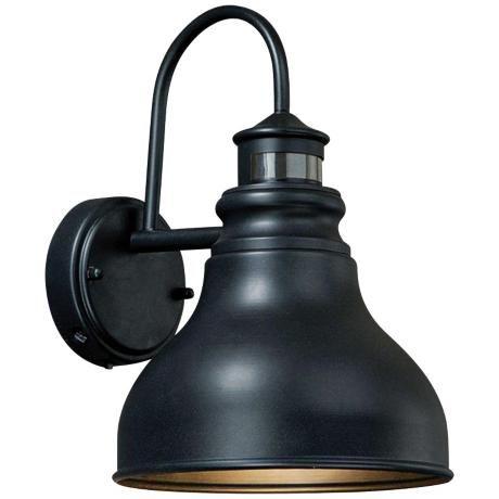 Franklin Smart Lighting 11 H Rub Bronze Outdoor Wall Light Motion Sensor 9 W X Extends 5 From
