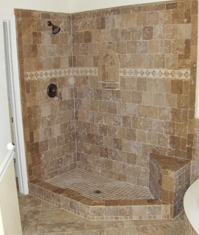 walk in showers without doors | planning how to terminate