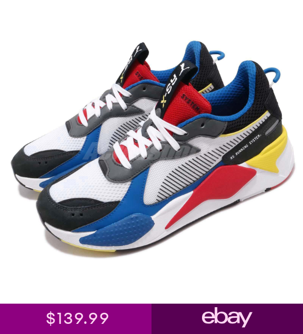 Blue Red Yellow Men Shoes 369449-02