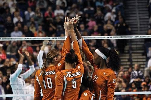 National Champions Texas Volleyball Female Volleyball Players Volleyball National Champions