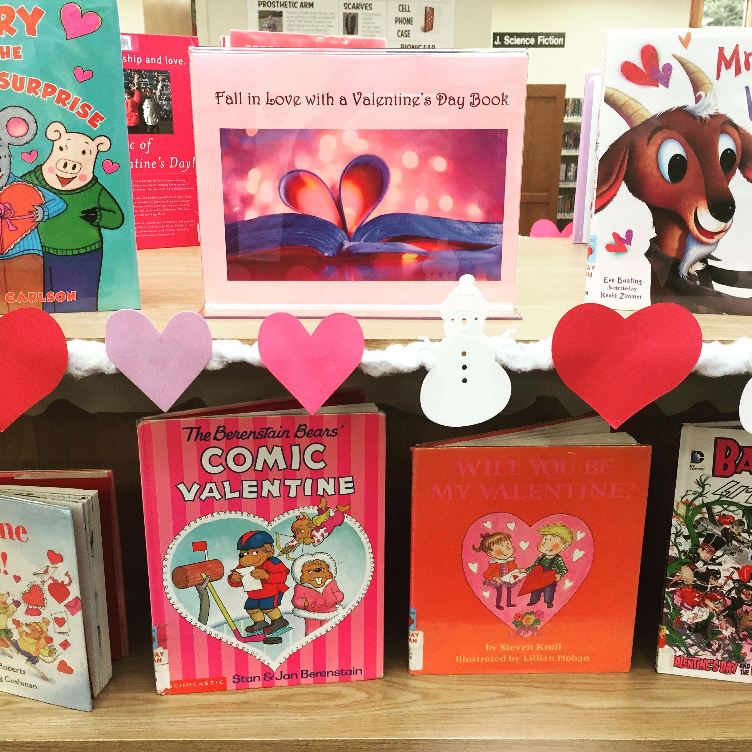 ❤️Lots of Valentine's Day books in our Children's Dept!❤️  Let's give them some love!💕