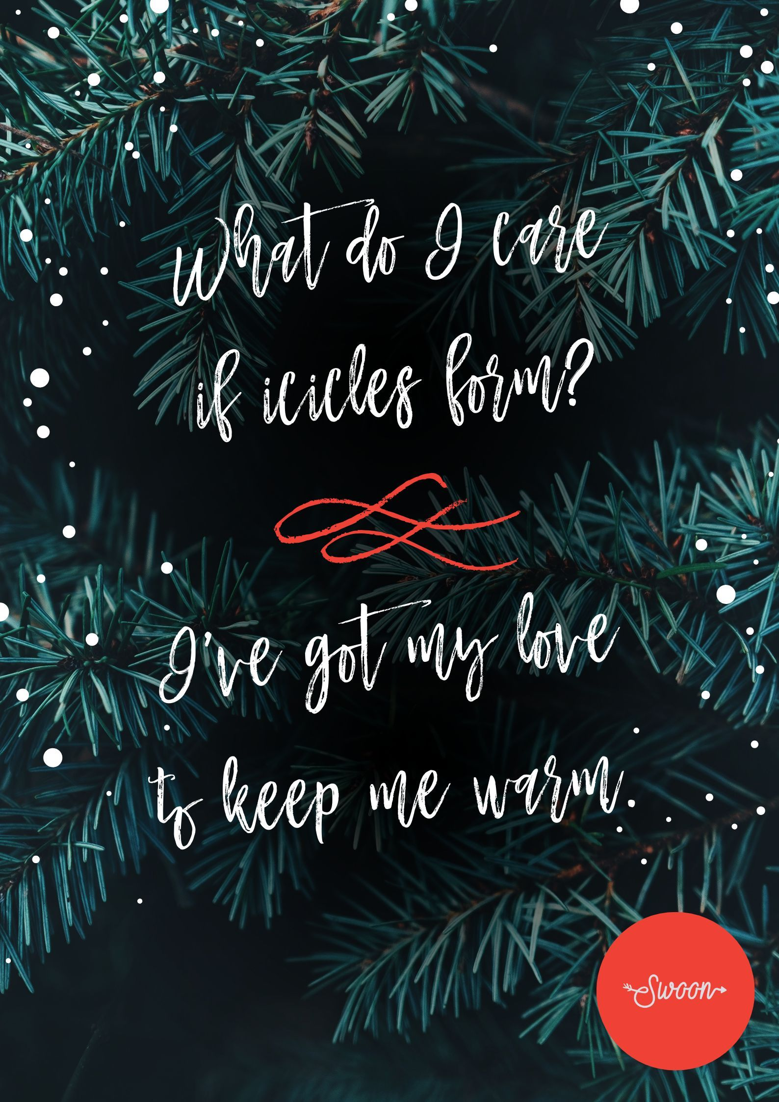 10 Christmas Song Lyrics So Romantic It Will Turn Your