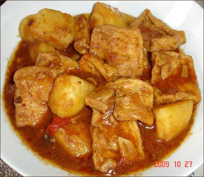 Resep Semur Tahu Sederhana Resep Masakan Masakan Masakan Vegetarian