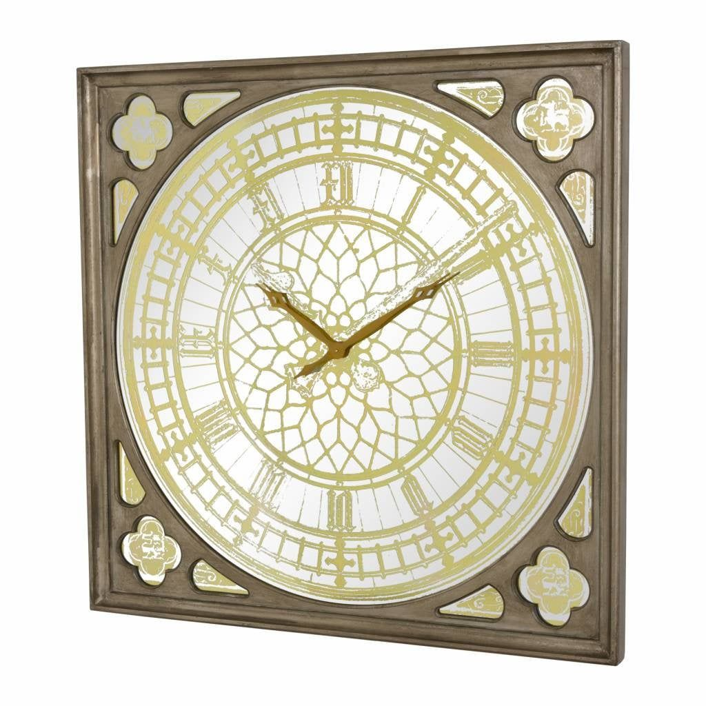 Big Ben Large Clock Antique Gold Finish 125 Cm In 2020 Big Ben Clock Clock Stylish Furniture