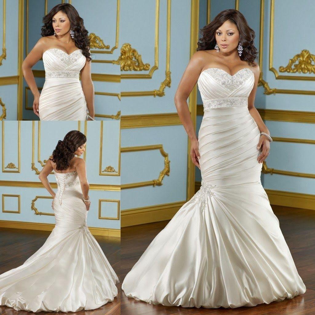 Maravillosos Vestidos de novias para Gorditas | vestidos de novia y ...