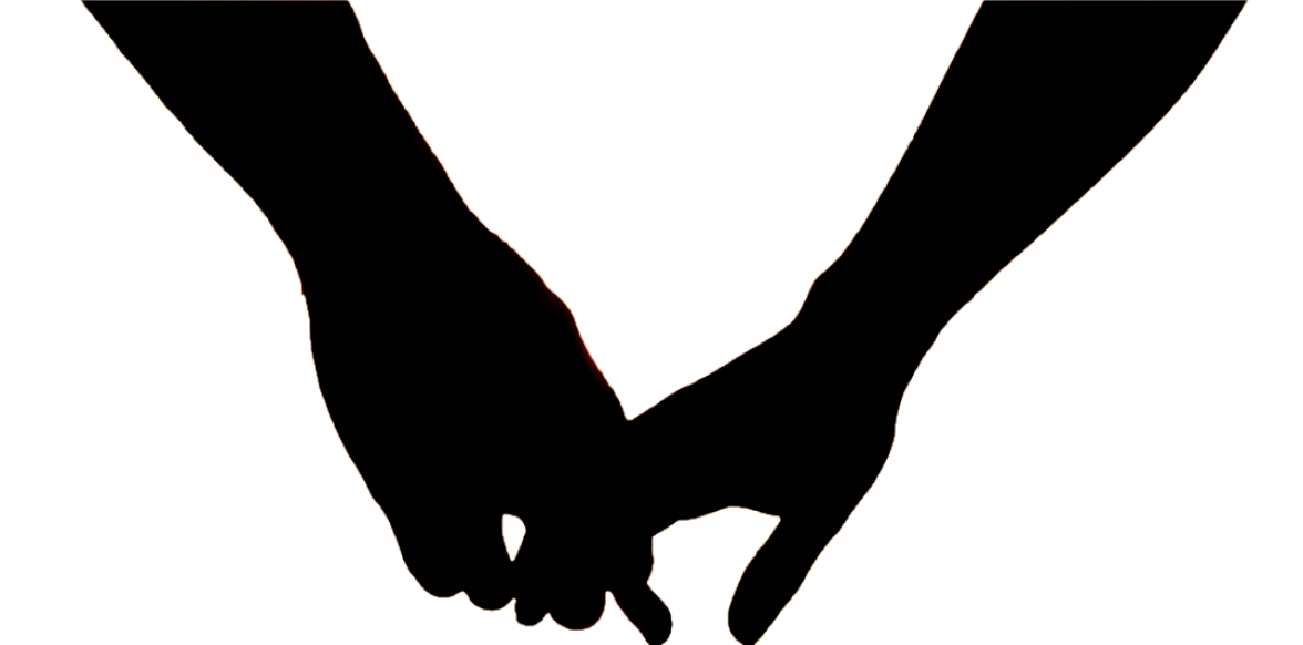 The Curious Search Life As A 30 Something Year Old Woman Still Couple Silhouette Hand Silhouette Holding Hands Drawing