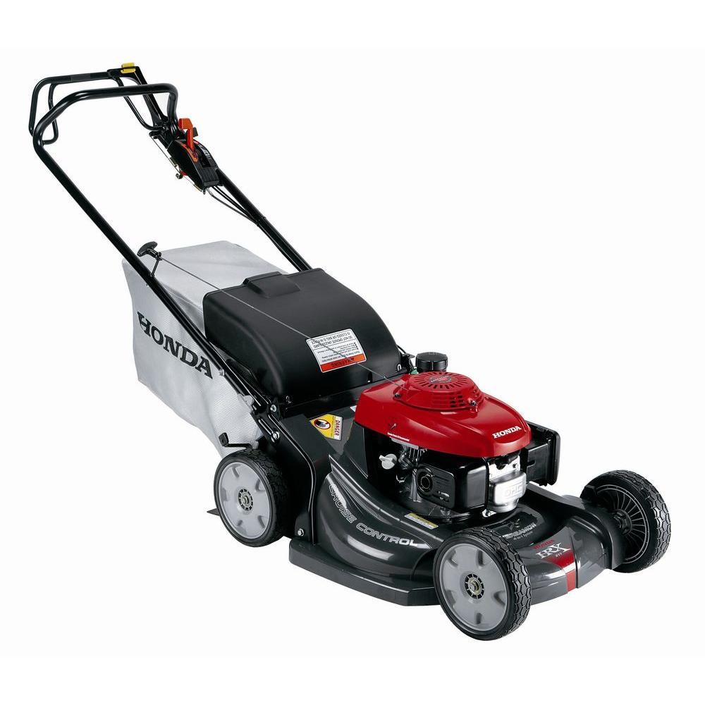 Honda Gcv190 21 In Variable Speed Walk Behind Gas Self Propelled Mower Self Propelled Mower Gas Lawn Mower Best Lawn Mower
