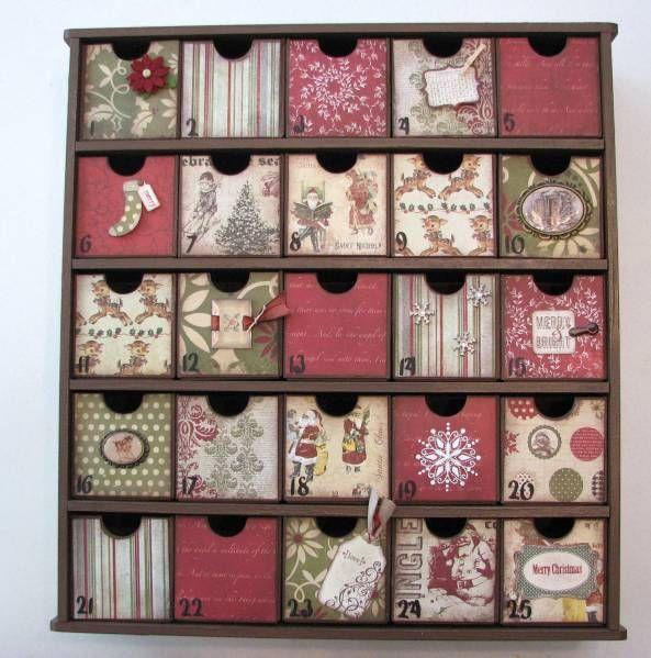 advent calendar four frames diy advent calendar. Black Bedroom Furniture Sets. Home Design Ideas