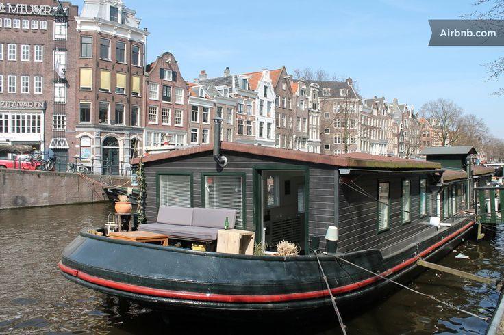 Vintage House Boats Fantastic Vintage Houseboat Jordaan