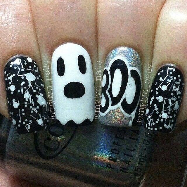 248 Creative Nail Art Designs For Girls Looking To Up: Halloween Nails, Nail