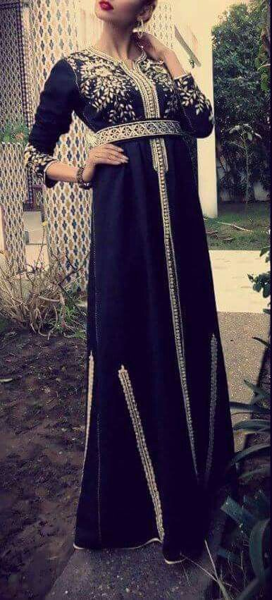 caftan dress | Moroccan fashion | Pinterest | Caftans, Caftan Dress ...